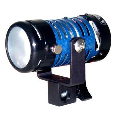 Frezzi Mini Fill on camera with NRG battery packs. LED Lite Panels also available.