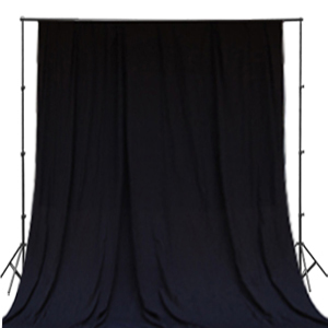 Black Cloth Backdrop